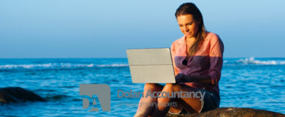 Three in 10 SME employers work during their summer holiday